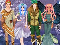 Dress Up Winter Fairies And Elves