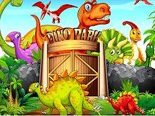 Dinosaurs Jigsaw Deluxe