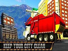 Real Garbage Truck: Trash Cleaner