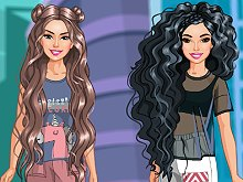 Long Hair Friends 2