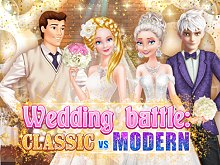 Wedding battle Classic vs Modern