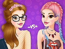 Princess Belle Shy Vs Daring