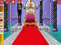 Castles Throne Room Decoration