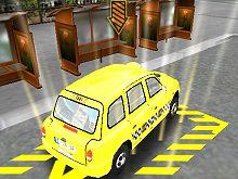 London Taxi 3D Parking