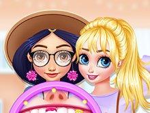 Princesses Wearing Braces