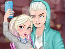 Frozen Couples: Selfie Battle
