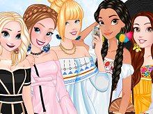 Princesses Off-Shoulder Dresses!