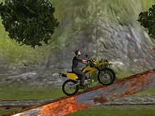 Bike Tricks Railroad Racer