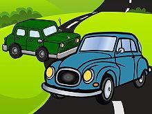 Cartoon Car Jigsaw