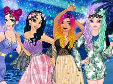 Princesses Night at the Seaside