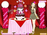Sweet 16 Cake Design