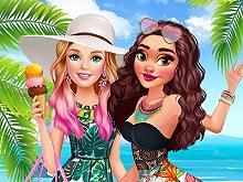 Ellie visits Polynesia
