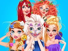 Princesses Makeover Salon