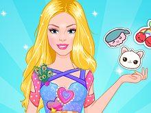 Barbie Crop Top Designer