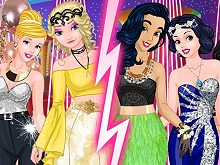 Blondes vs Brunettes Prom Challenge