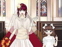 Mega wedding day dress up game