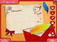 Love Letter Decoration