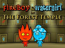 Fireboy and Watergirl 3 - In The Forest Temple Game