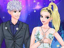 Ice Couple Princess Magic Date