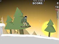 Downhill Snowboard 3