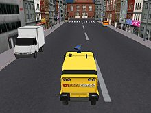 Firefighter Rush Truck 3D