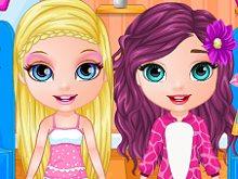 Baby Barbie Pajama Party