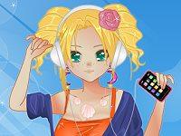 Anime Summer Girl Dress Up