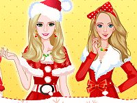 Modern Christmas Girls