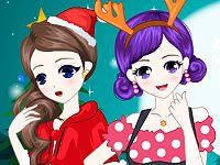 Christmas Friends dressup